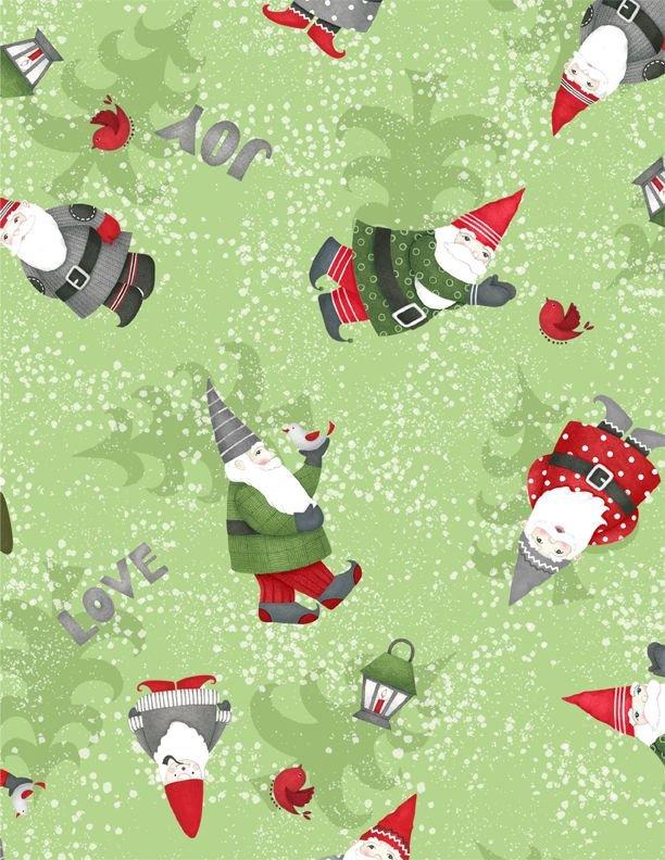 Winter Gnomes Green Gnomes Toss 67573-737