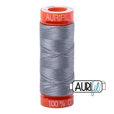 Aurifil 50wt Cotton Thread Light Blue Gray 20050-2610
