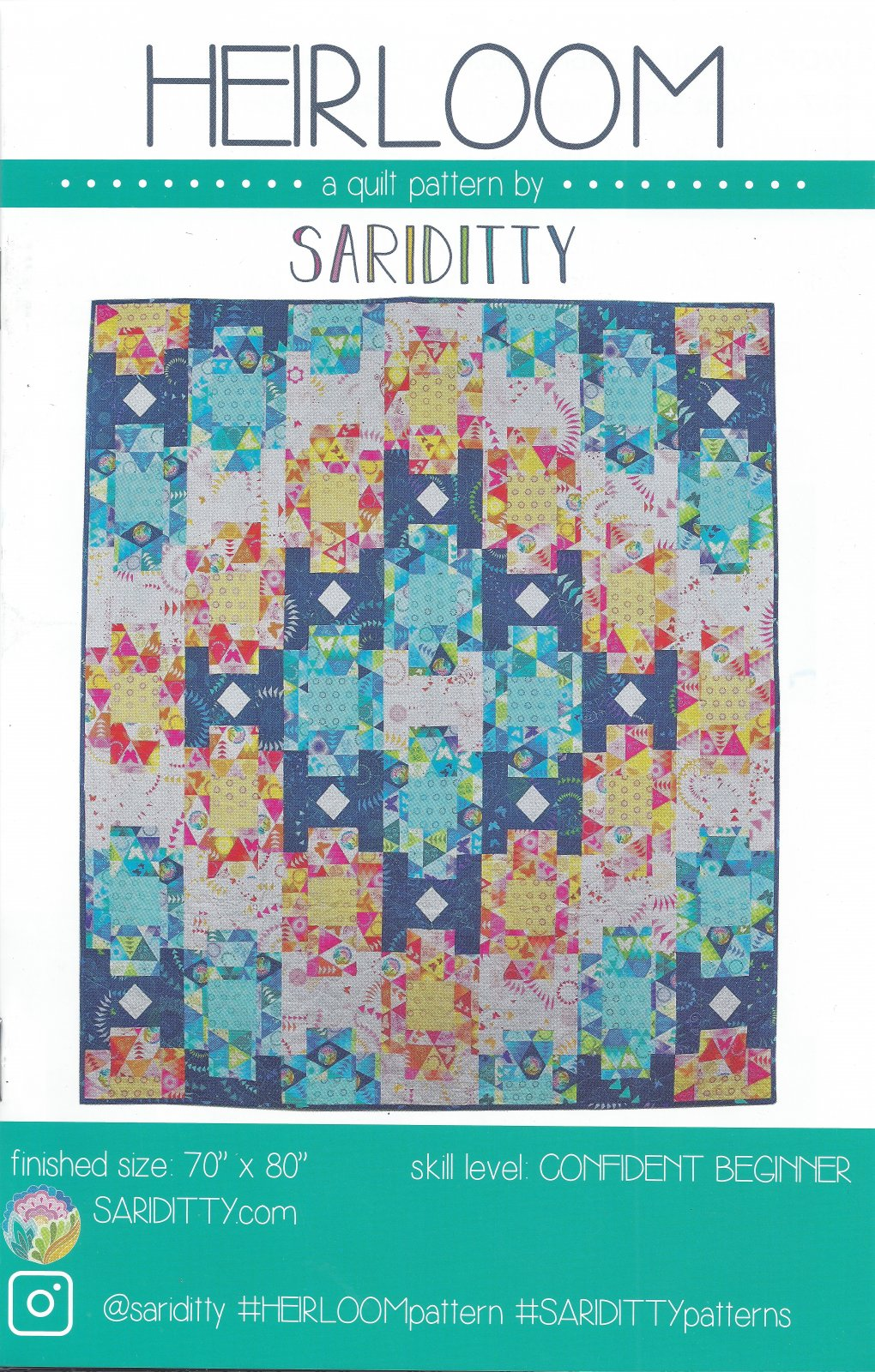 Heirloom Sariditty Pattern