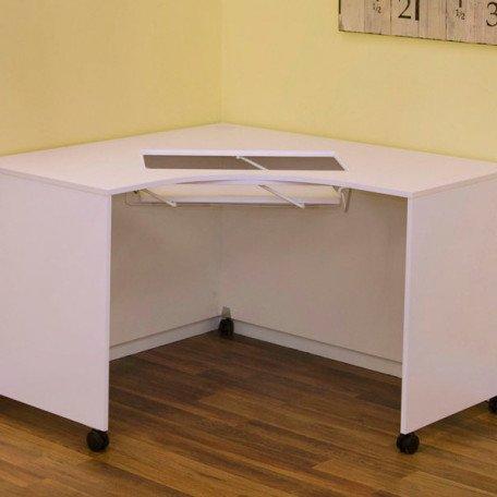 Mod Corner Cabinet White