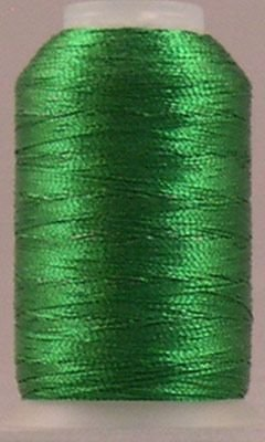 Fine Metallic Nylon Thread T-24 500yds Green