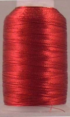 Christmas Red Fine Metallic 500yds
