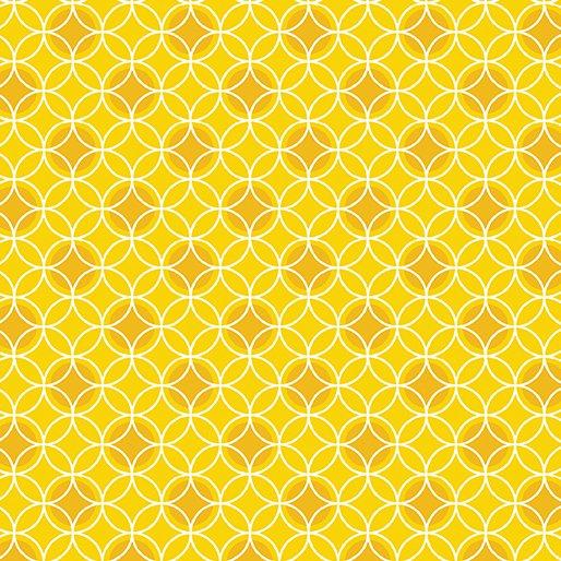 Bree Dot Circle Yellow 02134-03