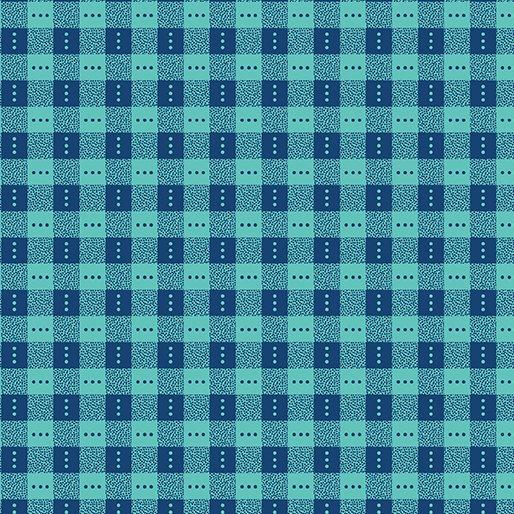 Bree Check Blue/Aqua 02136-55