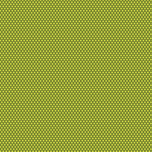 Bree Tiny Green Dots 02137-40