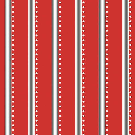Bree Stripe Red 02139-10
