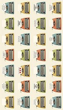 Letterpress Cream 21889-11