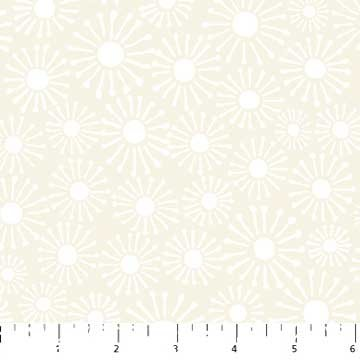 Simply Neutral Cream Tonal Daisies 22138-11