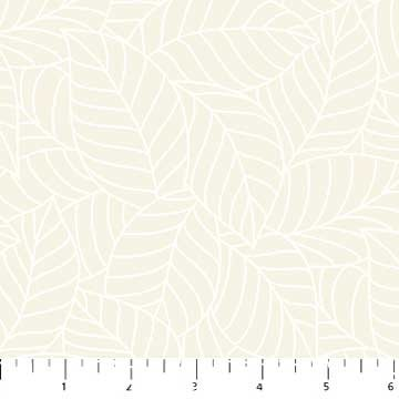 Simply Neutral Cream Packed Tonal Leaves 22140-11