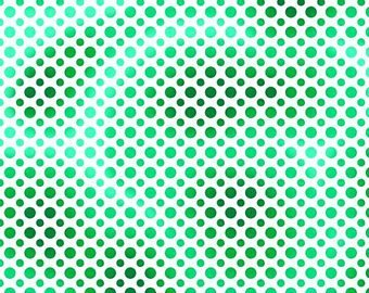 Ombre Dots Green 23413-G