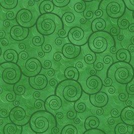 Harmony Cotton Curly Scroll Shamrock 24778-G