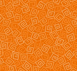 Harmony Cotton Squares Carrot 24779-O