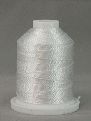Pearl Crown Rayon Thread 200yd White