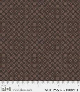 Basically Hugs Cross Stitch Dk Brown 25637DKBRO