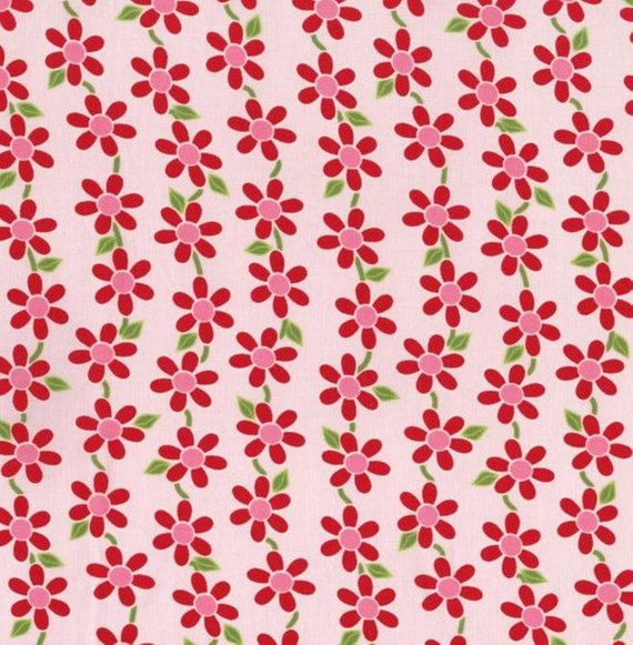 Bugsy Floral Allover Pink 2629001