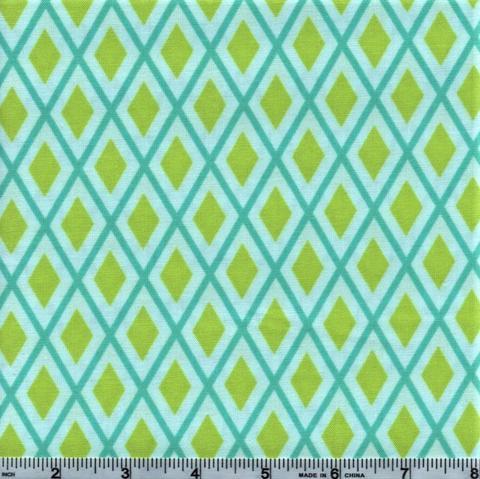 Bugsy Diamond Geo Blue/Green 2632002