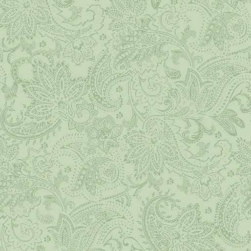 A Festive Season Tonal Paisley Medium Green 2651_40