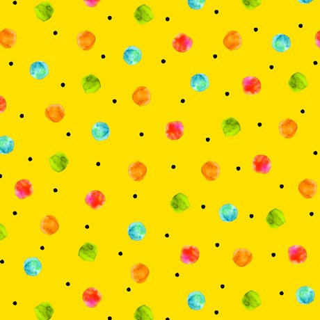 Fly Free-Dots Yellow 27087 S
