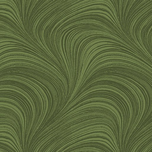 Wave Texture Medium Green 2966-43
