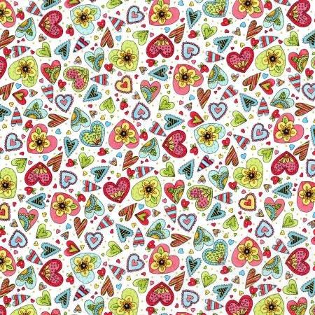 Doodle Pop Hearts Multi Metallic 3380001