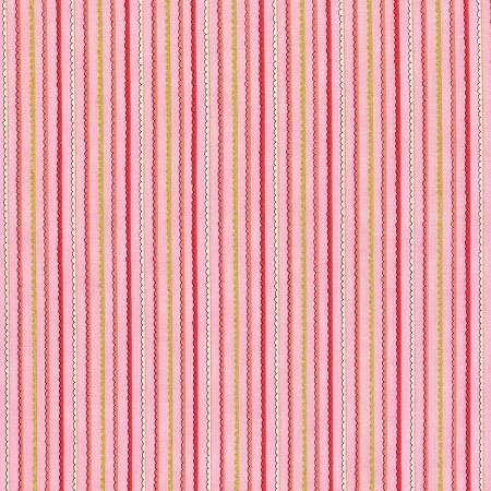 Doodle Pop Stripe Pink Metallic 3381002