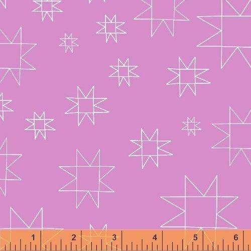Daisy Chain Mono Quilt Blocks Fuchsia 431306