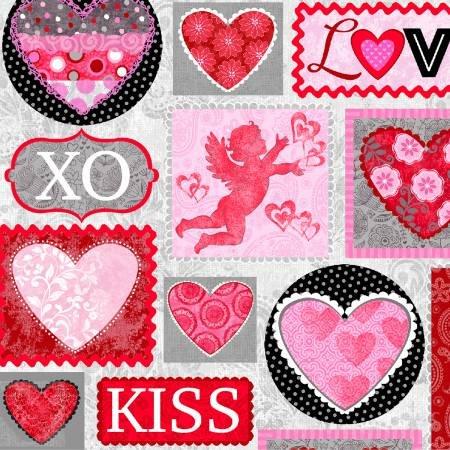 Hearts of Love  4370-28