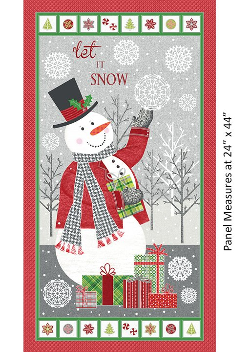 Let It Snow Panel - Multi 4580-99