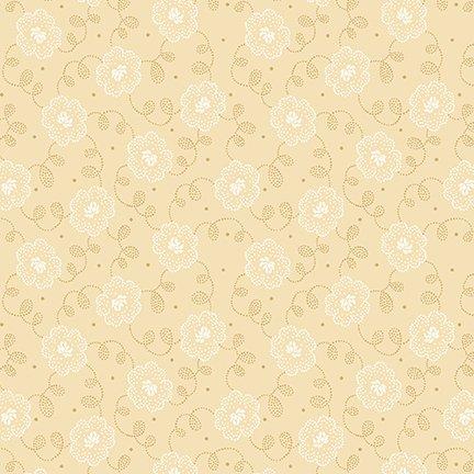 Cream and Sugar VIII Dotty Daisy Beige 4601-44