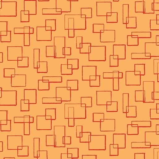 Modern Marks Boxes Lt Orange 466329