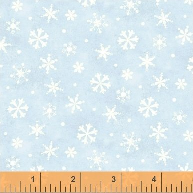 Winter Wishes Snowflakes Lt Blue 50260-2