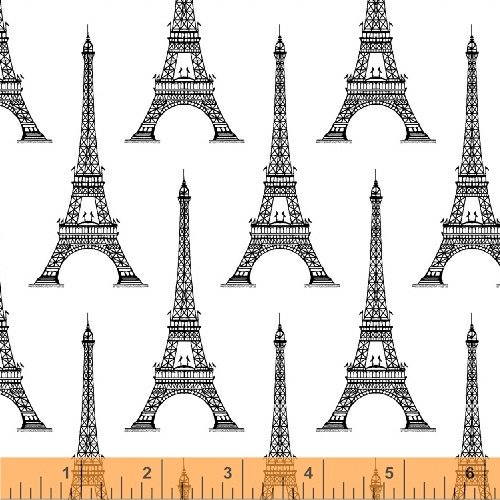 Love From Paris Eiffel Tower White 50589-2