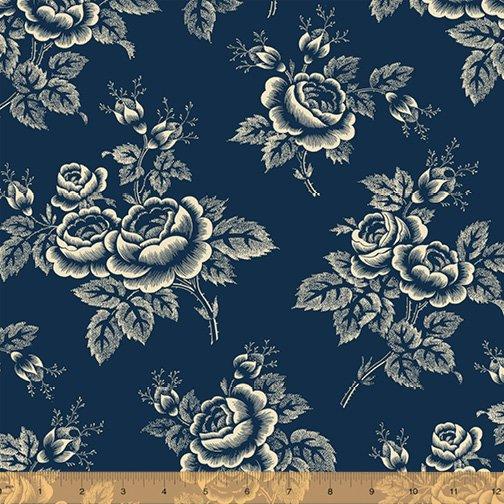 Abigail Blue Navy Large Floral 50874-1