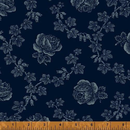 Abigail Blue Blue Trellis Rose 50875-3