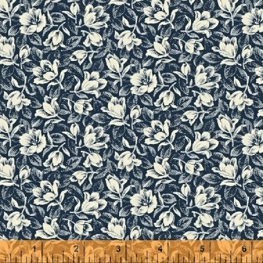 Abigail Blue Navy Packed Floral 50876-1