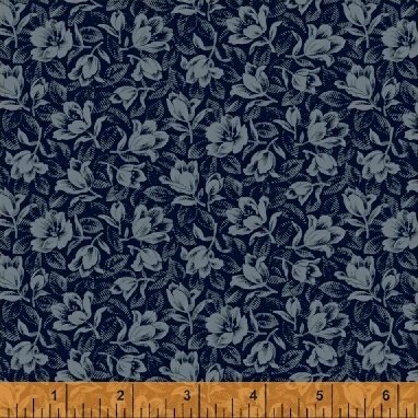 Abigail Blue Blue Packed Floral 50876-3