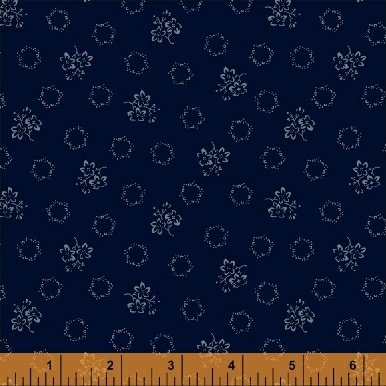 Abigail Blue Blue Geo Floral 50879-3