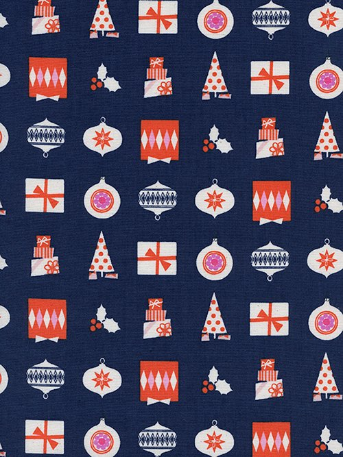 Noel Wrapped Up Navy 5138-01