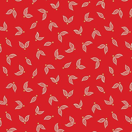 Jubilee 125th Little Leaves Red Metallic 5495M-10