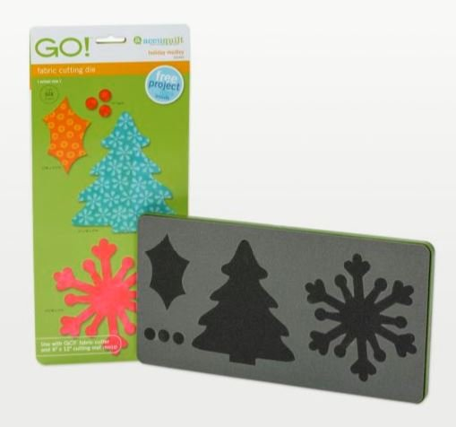 GO! Accuquilt Holiday Medley 55043