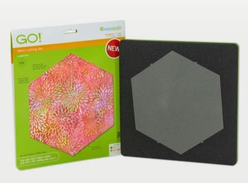 GO! Accuquilt Hexagon-4 1/2 Sides (4 1/4 Finished) 55438