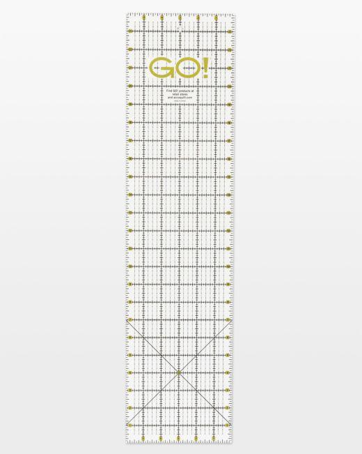 GO! Accuquilt Quilting Ruler 6 x 24 55474