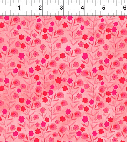 Floral Menagerie Floral pink 5FMB-1