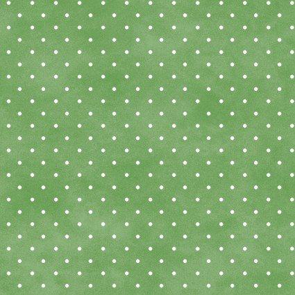 Beautiful Basics Classic Dots Grass Green 609MGG1