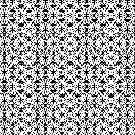 Transformation Black/White Flower of Life 6146-09