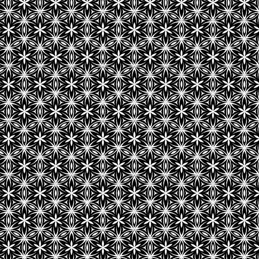 Transformation Black/White Flower of Life 6146-12