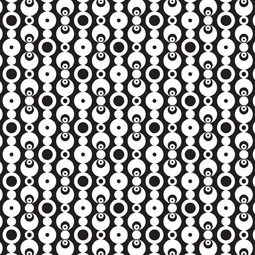 Transformation Black/White Simply Circles 6149-12