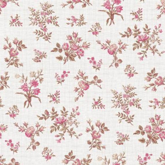 English Rose Rose Bunches cream 6971CREAM