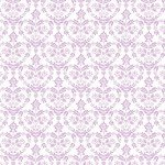 Lilac Nordic Floral Heart -The Girls Collection