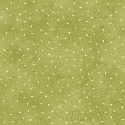 Beautiful Basics Scattered Dots Green  8119MG